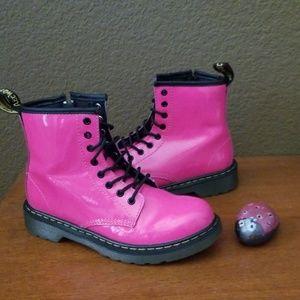 Hot pink Doc Martens, Girls Size 2